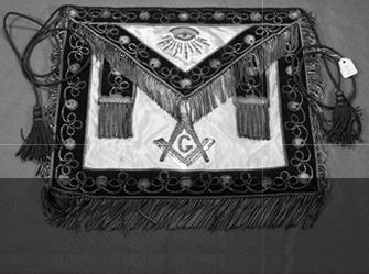 Master Mason's apron (c. early 20th century)